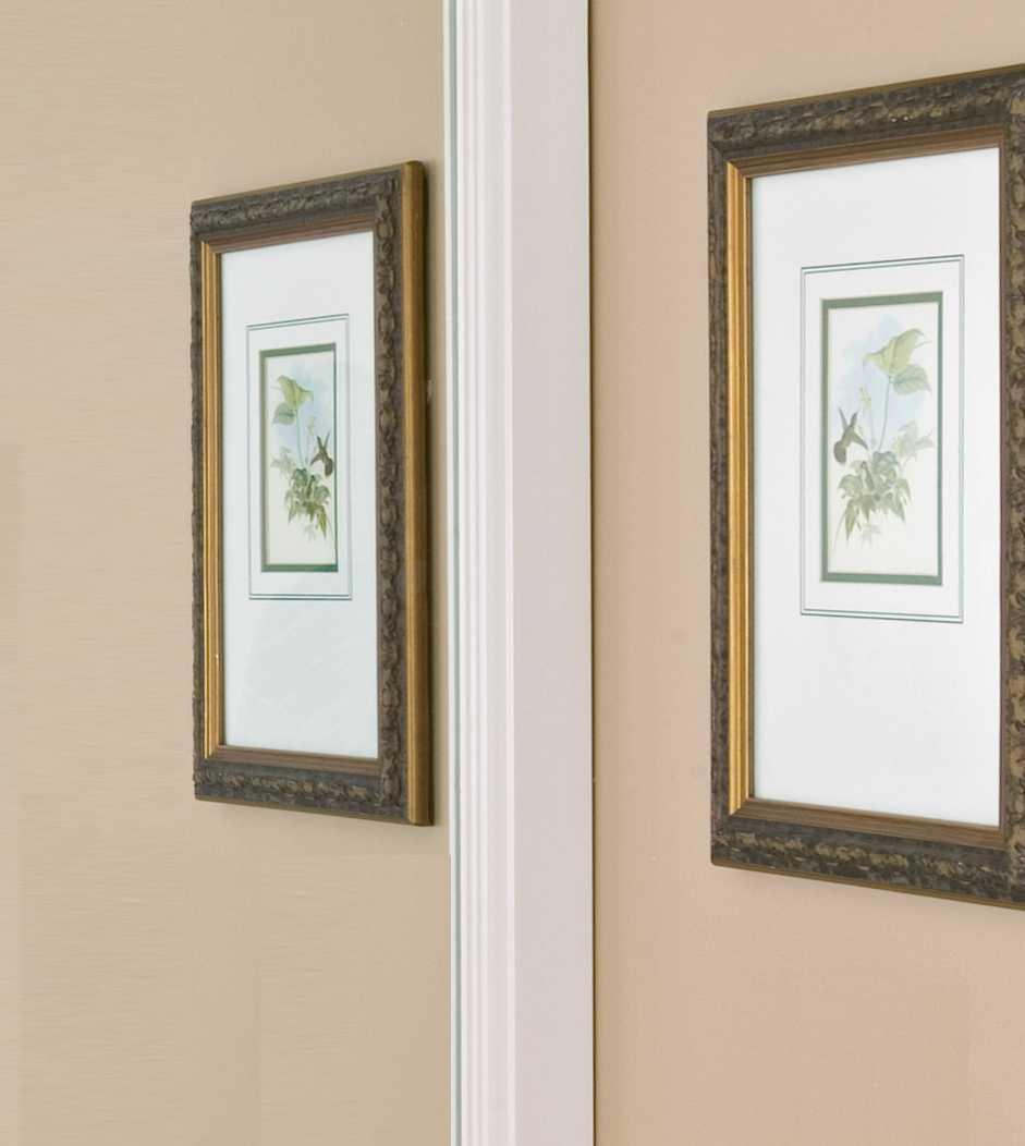 Durham 3-Inch Bathroom Mirror Frame Profile