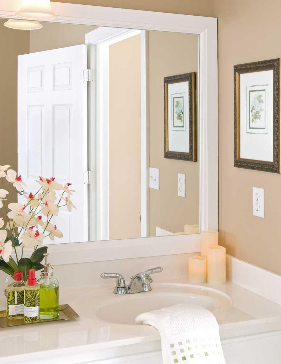 Durham Bathroom Mirror Frame |3 Inch Wide