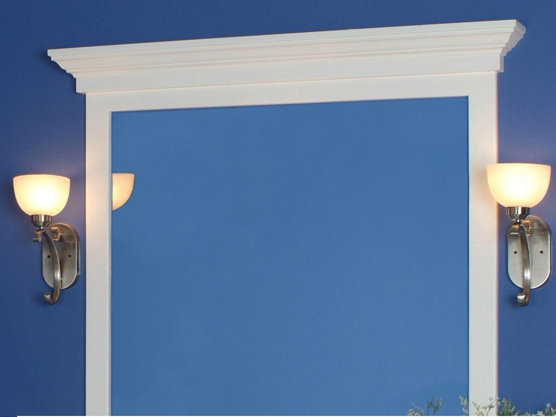 Mirror Frame Cornice Cap |The Maysville