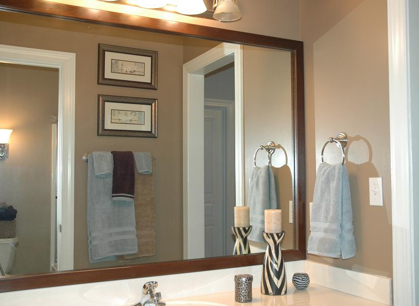 Bathroom Mirror Frame Kit | The Medford